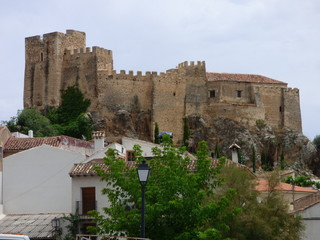 Castillo de Yeste, pueblo en la provincia de Albacete, dentro de la comunidad autónoma de Castilla La Mancha ( España)