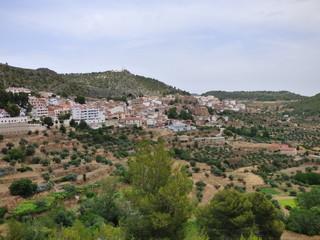 Yeste, pueblo en la provincia de Albacete, dentro de la comunidad autónoma de Castilla La Mancha ( España)