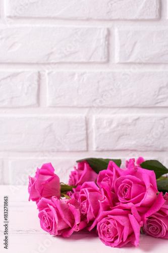Bunch Of Pink Roses Flowers Stockfotos Und Lizenzfreie Bilder Auf