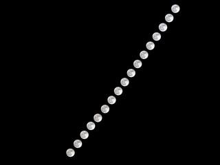 Super moon interval composite photograph.