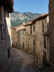 Pitarque, localidad de la provincia de Teruel en Aragon, España
