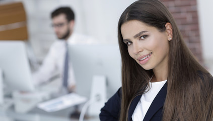 female Manager in the workplace