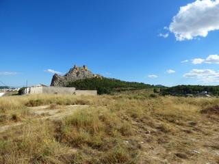 Castillo de Sax,municipio de la provincia de Alicante en la Comunidad Valenciana, España