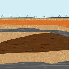layers of soil for construction
