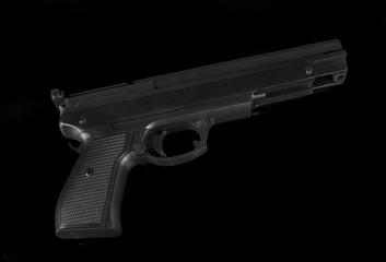 gun in studio