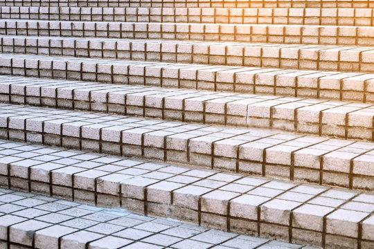 Brick Stairs,Success always starts at the ladder