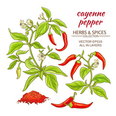 cayenne pepper set