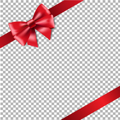Red Ribbon Isolated
