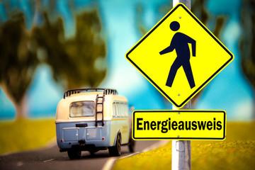 Schild 309 - Energieausweis