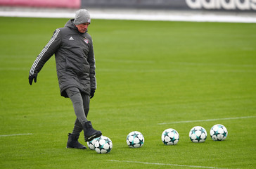 Champions League - Bayern Munich Training