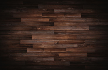 Dark wood texture for background, vignette border