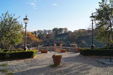 The little pretty Anghiari, Arezzo, Tuscany, Italy