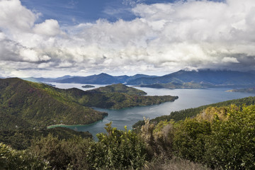 Marlborough sound, Neuseeland,Südinsel