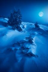 Christmas winter cold night