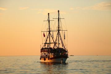 Hatay İskenderun, boat sailing