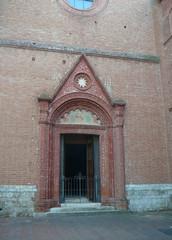 Territorial abbey in Monte Oliveto Maggiore