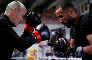 James DeGale Media Work-Out