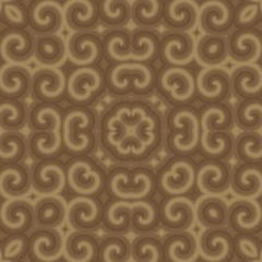Beautiful beige and brown ornamental geometrical image