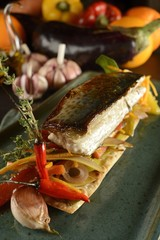 Pickled Mackerel in Orange sauce