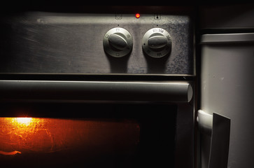 Oven Control Buttons