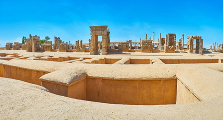 Enjoy the ancient Persepolis, Iran