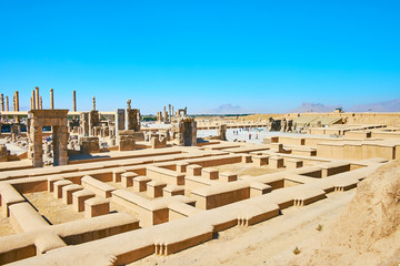 The main landmarks of ancient Persia