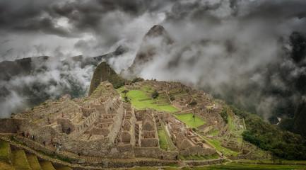 Machu Picchu in Peru.