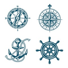 ship boat marine logo