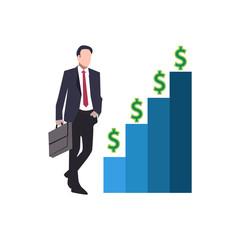 business man vector illustration