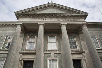 County Hall; Caernarfon; Wales