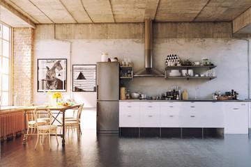 The modern loft kirchen