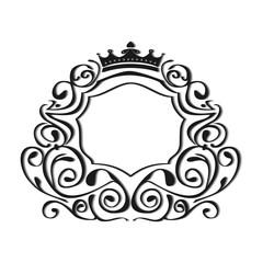 Vintage frame. Image for design