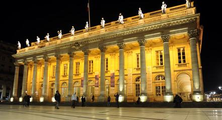 Grand Theatre in Place de Comedie, Bordeaux, France