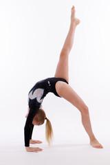 Fototapeten Gymnastik Bodenturnen