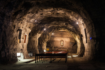 Rosary Chapel of Zipaquira Salt Cathedral