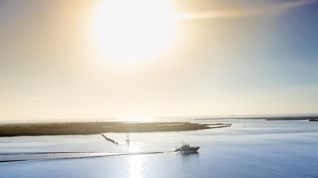 Morning on the River Delta