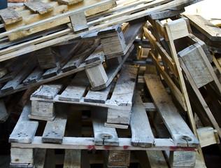 Pallet per costruzioni