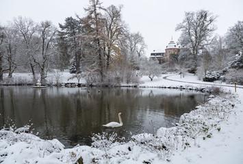 Winterruhe in Laubach
