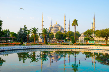 Sultan Ahmed Mosque - Istanbul, Turkey.
