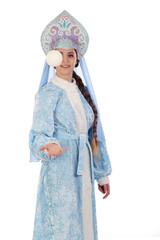 fairy-tale Snow Maiden