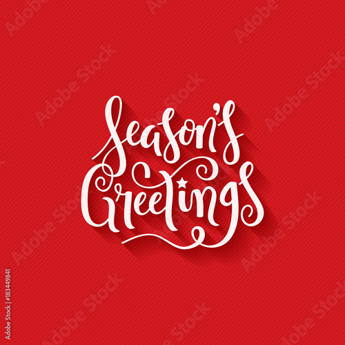Seasons greetings brush calligraphy on red giftwrap background seasons greetings brush calligraphy on red giftwrap background m4hsunfo