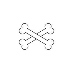 bones linear icon