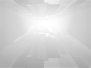 business concept virtual technology gray vector background