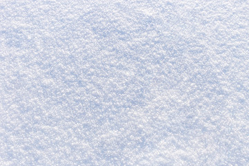 Background of fresh bright snow texture
