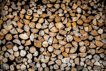 Combined firewood