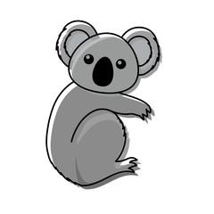 cute koala icon