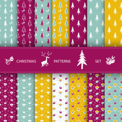 CHRISTMAS PATTERNS SET.