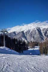 The winter resort in Russia, Sochi