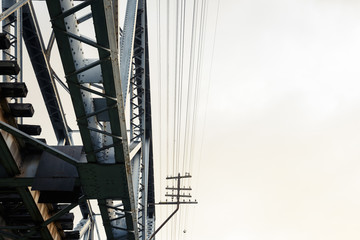Abstract Railway Bridge