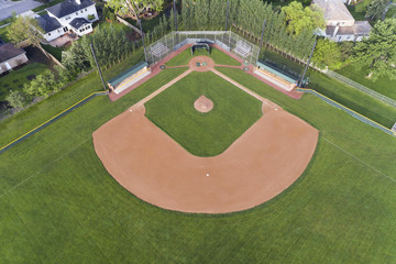 Baseball Field Aerial View